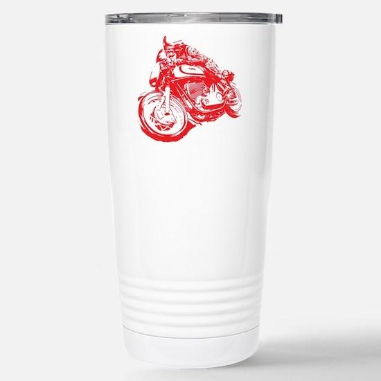 Norton Cafe Racer Stainless Steel Travel Mug