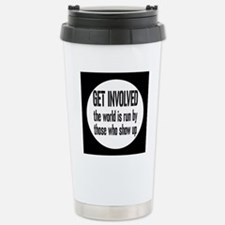 involvedbutton Stainless Steel Travel Mug