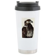 African Fish Eagle Travel Coffee Mug