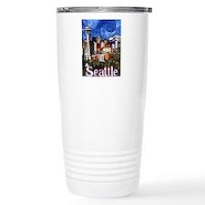 Seattle Skyline Travel Coffee Mug
