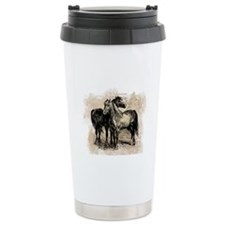 Vintage Horse Love Travel Mug