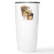 Vintage Horses Travel Mug