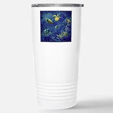 aquarium of sea turtles Travel Mug