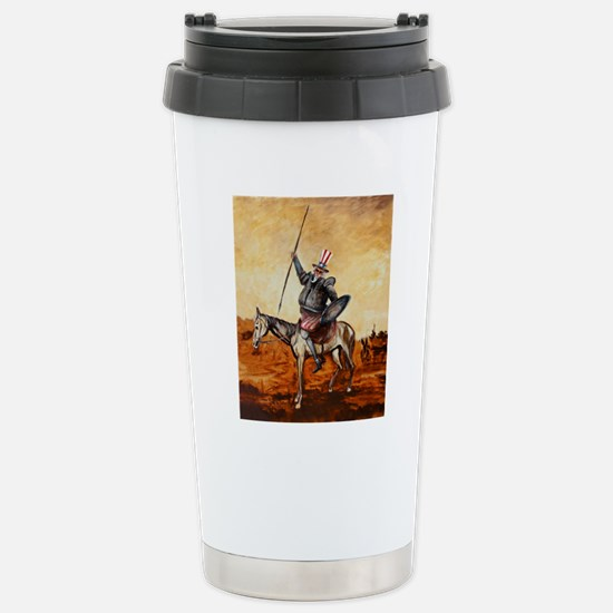 Uncle Sam Stainless Steel Travel Mug