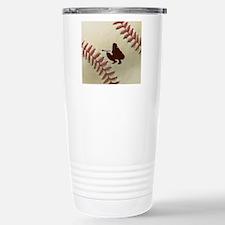 iCatch Baseball Stainless Steel Travel Mug