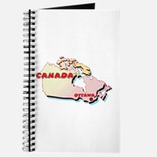 Canada Map Journal