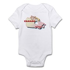 Canada Map  Infant Bodysuit