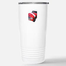 Red car Note 11 case Travel Mug