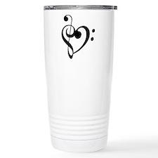 Treble Heart Travel Coffee Mug