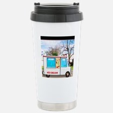 Ice Cream Truck in the  Stainless Steel Travel Mug