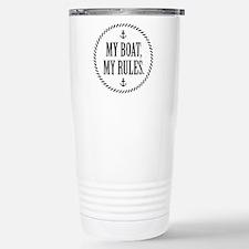 My Boat, My Rules Travel Mug