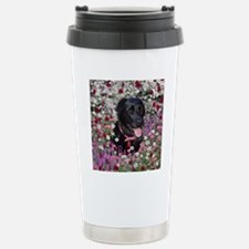 Abby the Black Labrador Stainless Steel Travel Mug