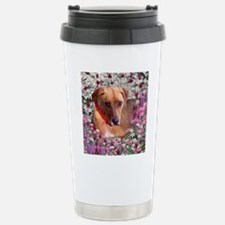 Trista the Rescue Dog i Travel Mug