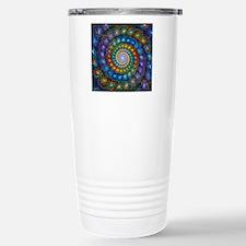 Fractal Spiral Beads Sh Travel Mug