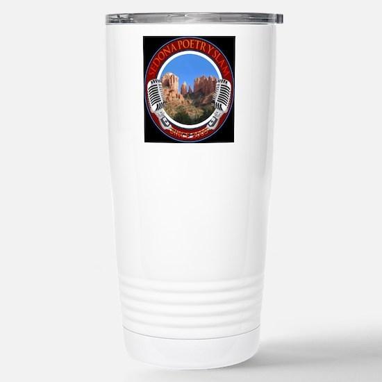 Sedona Poetry Slam blac Stainless Steel Travel Mug