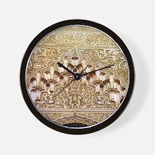 Alhambra- Granada. Detail of carving fr Wall Clock