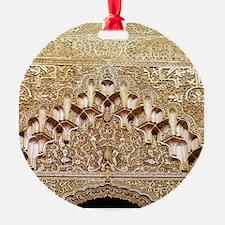 Alhambra- Granada. Detail of carvin Ornament