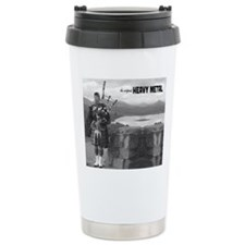 Bagpipes Heavy Metal Mo Travel Coffee Mug