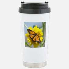 Monarch Butterfly Stainless Steel Travel Mug