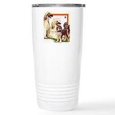 Afghan Hounds from St V Travel Mug
