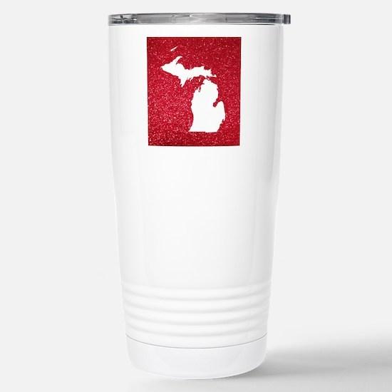 Michigan Stainless Steel Travel Mug