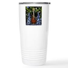 Mandolin_In_Blue_Christ Travel Mug