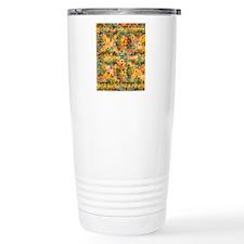 Spring Flower Patchwork Travel Mug