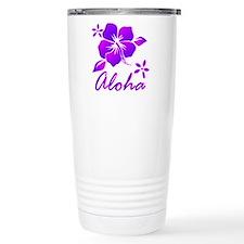 Aloha Purple Travel Mug