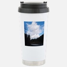 Eel River With Clouds Stainless Steel Travel Mug