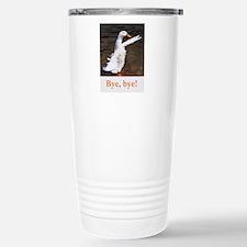 Bye, Bye Duck Stainless Steel Travel Mug