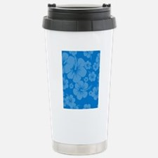Blue Hibiscus Hawaii Pr Stainless Steel Travel Mug