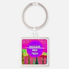 Nuclear Med Tech Keychains