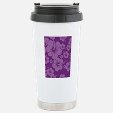 Purple Hibiscus Hawaii  Travel Mug