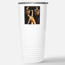 Weightlifting Old Schoo Travel Mug