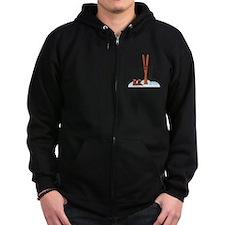 Ski Gear Zip Hoodie