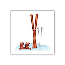Ski Gear Sticker
