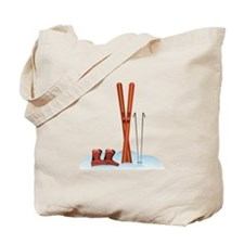 Ski Gear Tote Bag