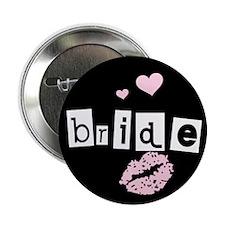 The Bride (black) Button