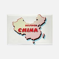 China Map Rectangle Magnet