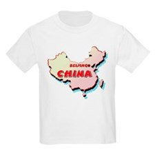 China Map T-Shirt