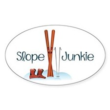 Slope Junkie Decal