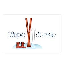 Slope Junkie Postcards (Package of 8)