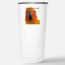 Sun Conure 2 Steve Dunc Travel Mug