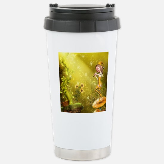 tf_round_cocktail_plate Stainless Steel Travel Mug