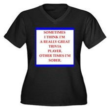 trivia Plus Size T-Shirt