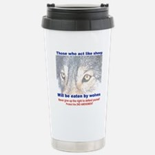 THOSE WHO ACT LIKE SHEE Stainless Steel Travel Mug