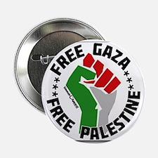 """Unique Palestine 2.25"""" Button"""