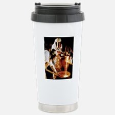Foundry workers pouring Travel Mug