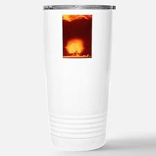 First atomic explosion  Stainless Steel Travel Mug