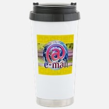 Global e-mail Travel Mug